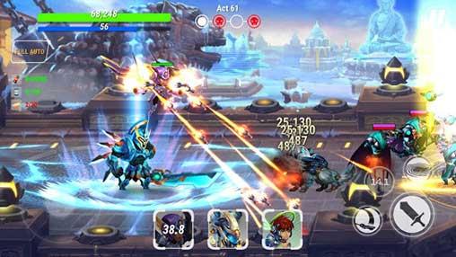 Heroes Infinity God Warriors mod free apk full download 5kapks