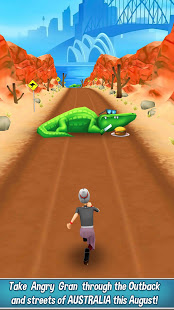 Angry Gran Run - Running Game free apk full download 5kapks