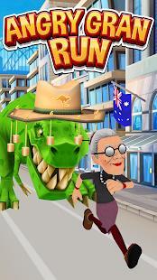 Angry Gran Run - Running Game mod latest version download free apk 5kapks