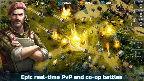 Art of War 3 PvP RTS modern warfare strategy game free apk full download 5kapks