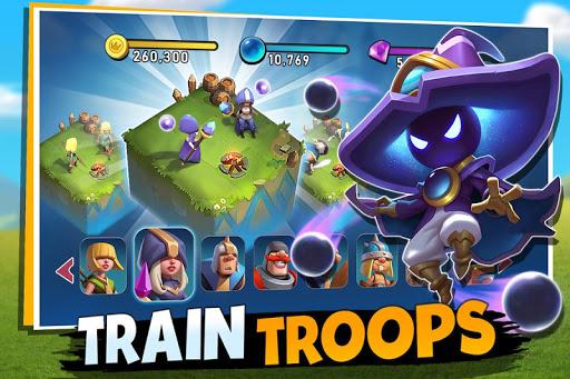 Castle Clash New Dawn mod latest version download free apk 5kapks