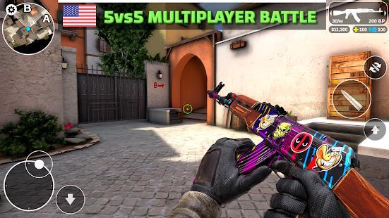 Counter Attack - Multiplayer FPS mod latest version download free apk 5kapks