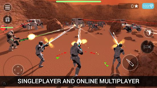 CyberSphere TPS Online Action-Shooting Game free apk full download 5kapks