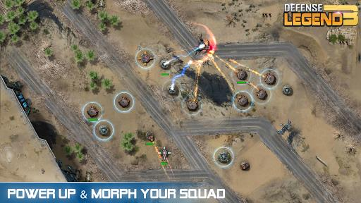 Defense Legend 3 Future War mod latest version download free apk 5kapks