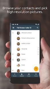 Full Screen Caller ID mod latest version download free apk 5kapks