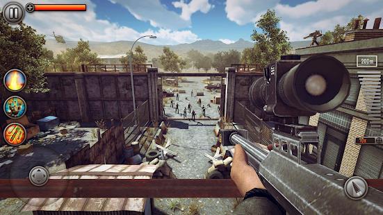 Last Hope Sniper - Zombie War Shooting Games FPS free apk full download 5kapks