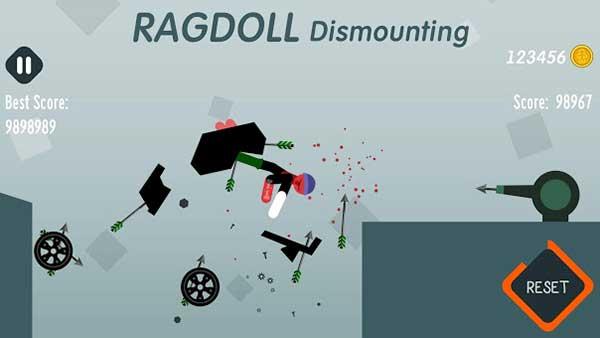 Ragdoll Dismounting free apk full download 5kapks