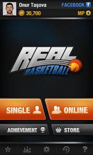 Real Basketball mod latest version download free apk 5kapks