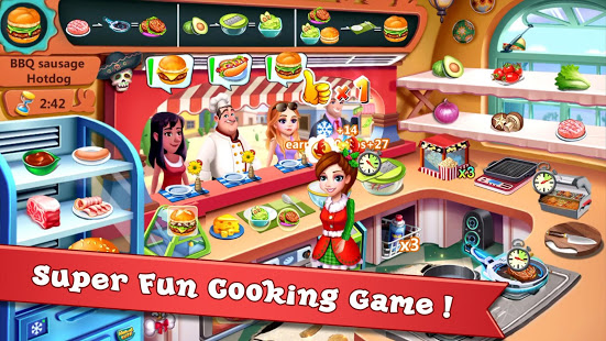 Rising Super Chef - Craze Restaurant Cooking Games free apk full download 5kapks
