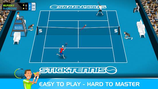 Stick Tennis mod latest version download free apk 5kapks