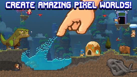 The Sandbox Evolution - Craft a 2D Pixel Universe! free apk full download 5kapks