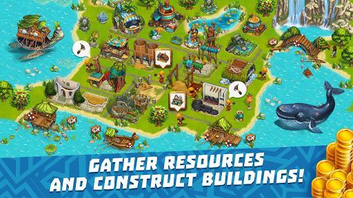 The Tribez Build a Village mod latest version download free apk 5kapks