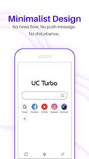 UC Browser Turbo - Fast download, Secure, Ad block free apk full download 5kapks