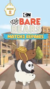 We Bare Bears Match3 Repairs free apk full download 5kapks