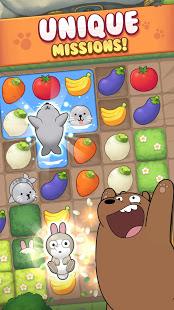 We Bare Bears Match3 Repairs mod latest version download free apk 5kapks