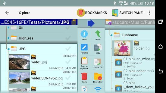 X-plore File Manager mod latest version download free apk 5kapks