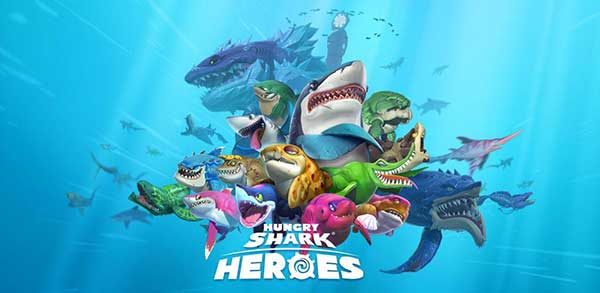 hungry-shark-heroes free apk full download 5kapks