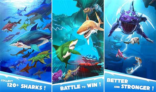 hungry-shark-heroes modfree apk full download 5kapks