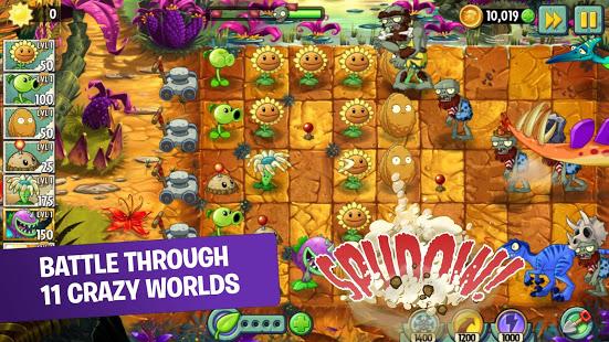 Plants vs Zombies 2 free apk full download 5kapks