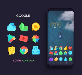 Lotus Icon Pack free apk full download 5kapks